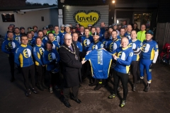 January 2015 Mayor Presents BCC Jersey