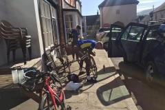LE JOG Day 4 bike prep