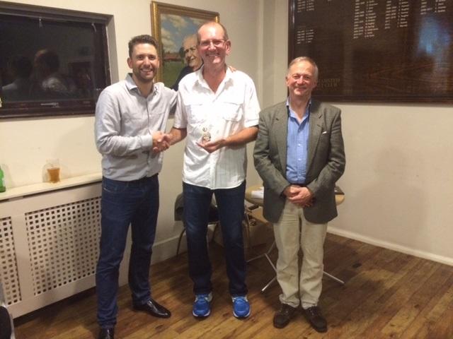 Supporters award - Trevor Hill