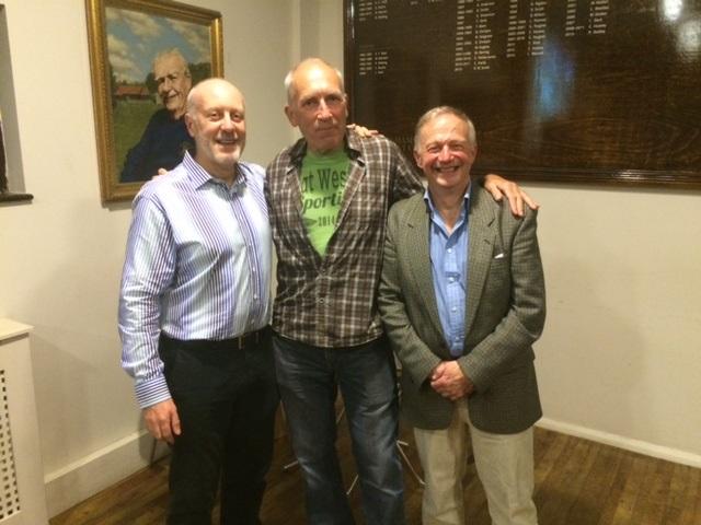 Belated TT medals - Messrs Farrance and Gower (not present)